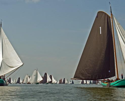 Lemmer Ahoy skûtsjewedstrijd