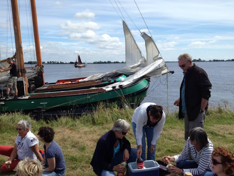 picknicken met vrienden en familie