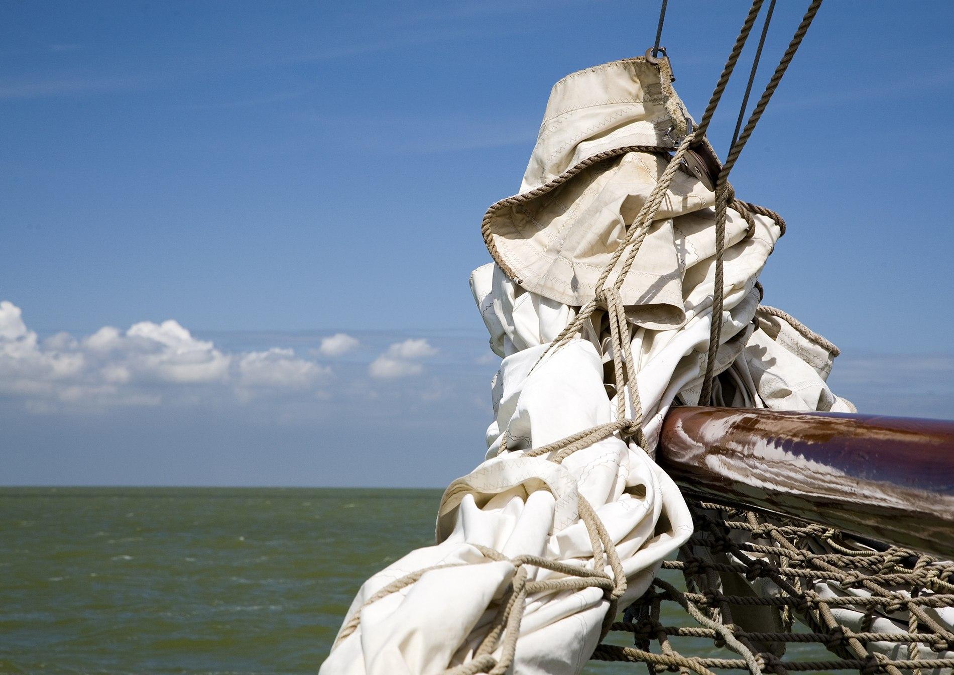 zeiltocht op IJsselmeer of Waddenzee